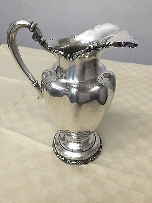 Vintage Sterling Silver Pitcher