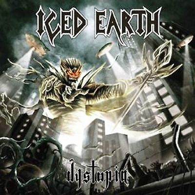 LP-Iced Earth- Dystopia -180gr-LIMITED EDITION-SIGILLATO/SEALED!!!