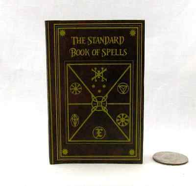 STANDARD BOOK OF SPELLS in 1:3 Scale Readable Book HARRY POTTER Textbook