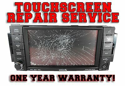 Chrysler Dodge Jeep Touch Screen Rer Rhr Ren Mygig Radio Repair Service Replace