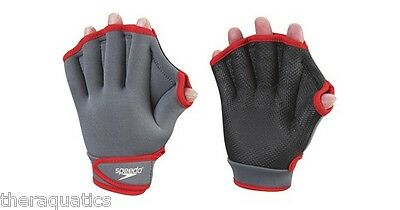 Speedo AQUA FITNESS GLOVES Surfing Swimming Lane Training GLOVES Neoprene 753465