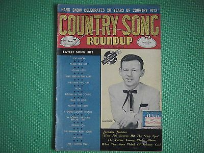 country song roundup magazine june 1957 vol 6 #50