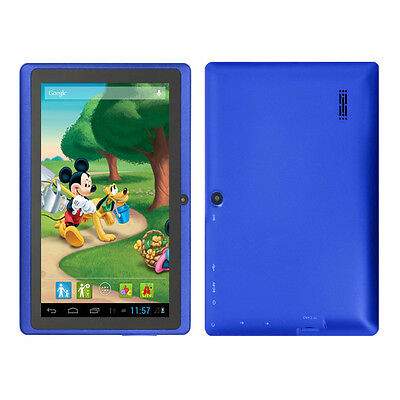 """Blue 7"""" Google Android 4.2 Tablet PC MID for Kids Children Dual Core USA Stock"""