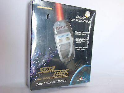 Star Trek The Next Generation Type 1 Phaser Mouse New
