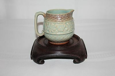 Antique Embossed Creamer from Japan