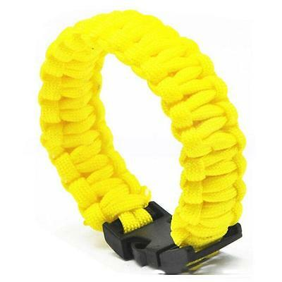Hot Outdoor Survival Rope Random Color Emergency Bracelet Nylon Woven