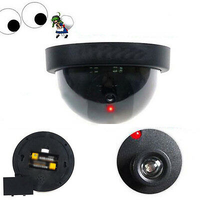 New Black Fake Pretend Dummy Hemisphere Ball Realistic Looking Security Camera