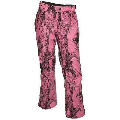 Ridgeline Ladies Casadora Waterproof Hunting Pants Pink Camo