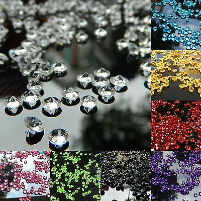 2000 4.5mm Wedding Decoration Scatter Table Crystals Diamonds Acrylic Confetti