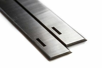 For Multico - 9 1/4 inch Slotted 1 Pair HSS Planer Blades S704S6
