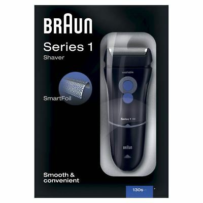 Braun Series 1 130s-1 Mens Electric Mains Washable Shaver Trimmer with SmartFoil