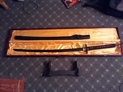Ichigo bleach Tensa zangetsu bankai Sword New Deluxe blade 1045 carbon full set