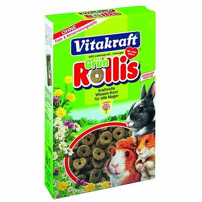 VITAKRAFT Green Rollis for Rodents 500 g - Food rodents General feed Snack