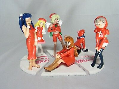Love Hina Special Christmas Prize Figures Completed Set