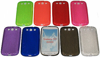 Shockproof Gel Case Protector Cover For Samsung Galaxy S3 SIII GT i9300 i9305
