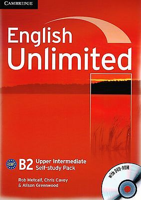 Cambridge ENGLISH UNLIMITED UPPER-INTERMEDIATE Self-Study Pack with DVD-ROM @New
