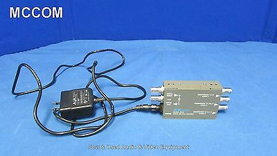 AJA D5CE Serial Digital Encoder SDI to Component Analog w/ Power Supply