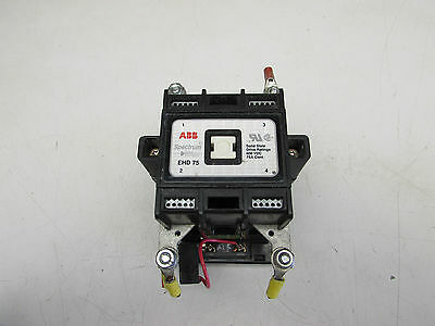 Abb Spectrum Drive Contactor  Ehd 75   600 Vdc 75 Amp Excellent! Make Offer!