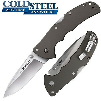Cold Steel - Code 4 Spear Point Folding Knife 2015 Version 58TPCS New