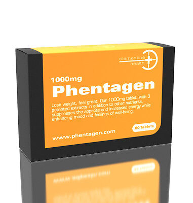 3 x Phentagen phenamine appetite suppressant - 1000mg - Extreme strength diet