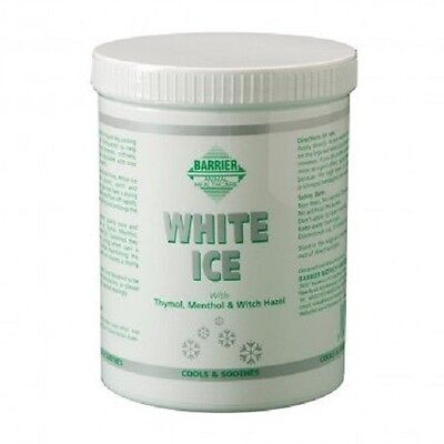 Barrier White Ice 1litre soreness, stiffness, abrasions, swelling for horses
