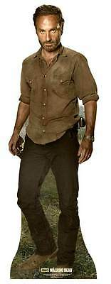 Rick Grimes 2015 The Walking Dead Andrew Lincoln Cardboard Cutout.  Zombie Hero!