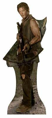 Daryl Dixon 2015 The Walking Dead Cardboard/Stand Up/Standee. Reedus Zombie Hero