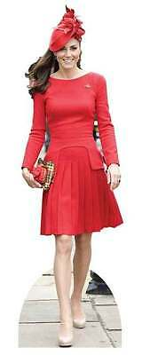 Catherine Duchess of Cambridge Royal Kate Cardboard Cutout/Stand Up/Standee