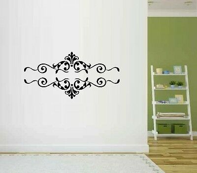 Scrolls #2 Set of Two - Wall Decal