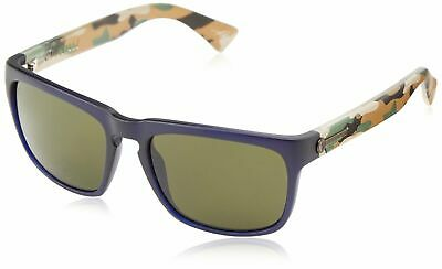 Electric Knoxville Sunglasses Blue Jungle Frame Melanin Grey Lenses EE09049920