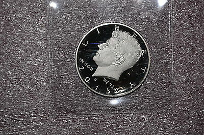 2015-S  Silver Proof Cameo Kennedy Half-Dollar from Silver Proof Set
