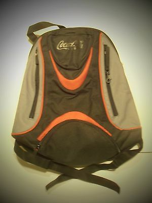 CocaCola 18 inch Red and Black Back Pack Polyester