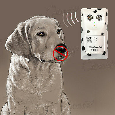 Humanity Ultrasonic Bark Control Anti Bark Deterrent Stop Dog Barking Silencers