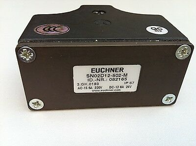 NEW Original EUCHNER Travel Switch SN02D12-502-M replace SN02D12-502-MC1688