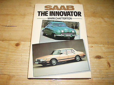 Saab-The Innovator by M.Chatterton.(An Excellent copy) Much Motorsport content