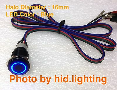 BMW E60 5 series Sport mode unlock cable wire pin with Blue LED Button 16mm