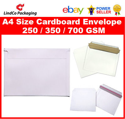 50PCS 323X229mm A4 document Semi Rigid Cardboard Envelope hard mailer