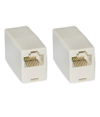 RJ45 to RJ45 Adapter Coupler Netowrk CAT5/6 Cable extend adapter Female