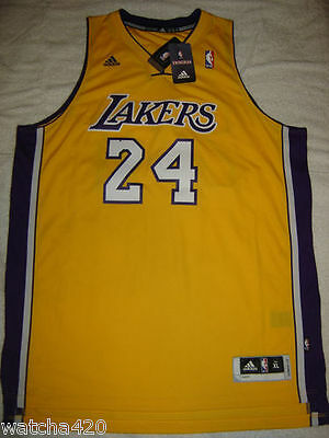 L.a. Lakers Gold Adidas Swingman Jersey