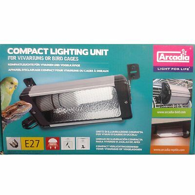 Arcadia - Compact Lamp with Reflector for Birds and Reptiles - For Bird Lamp