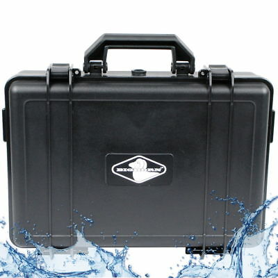 Waterproof Equipment Hard Case Custom Padded Foam Insert Camera Video Gun  !