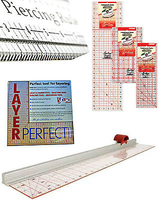 Craft Rulers Quilting Quilters Patchwork Dressmaking Drafting Ruler Layer Tool