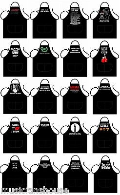 Novelty Aprons Bbq Rude Funny Chef Cooks Kitchen Party Birthday Present Fun Gift