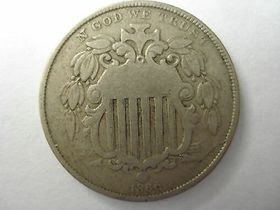 United States 1866 5 Cents