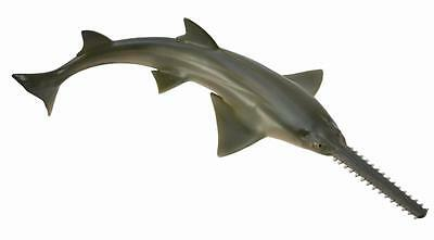 SAWFISH CollectA Sea Life NEW ocean life figure 88659 Largetooth Freshwater