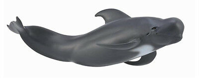 PILOT WHALE CollectA Sea Life 2013 NEW ocean life figure 88613 Short-finned
