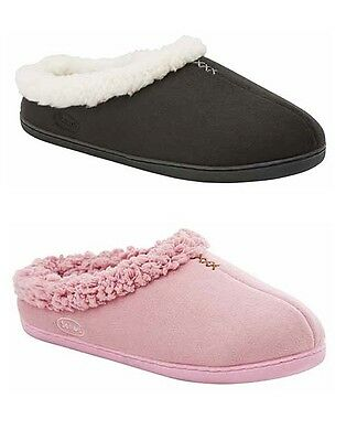 SCHOLL ORTHAHEEL ORTHOTIC SOFTY - womens slippers shoes choose black or pink