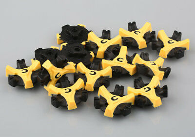 14Pcs Golf Shoe Spikes Replacement Champ Cleat Fast Twist Q-Lok For Foot Joy New