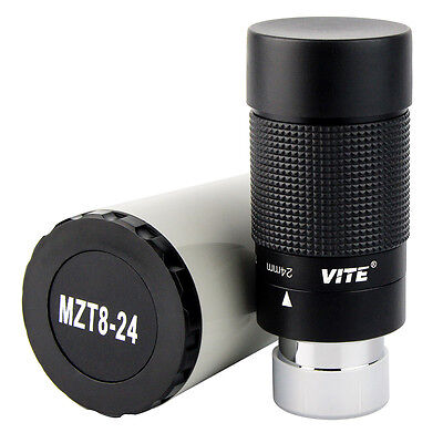 8-24mm 1.25inch 31,7mm 40-60 Angle Zoom Oculare per Telescopio Skywatcher Nero