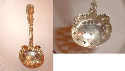 sterling silver spoon large sugar sifter Whiting1891 louis xv  tableware